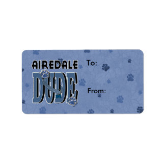 Airedale DUDE Label