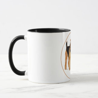 Airedale Father's Day Mug
