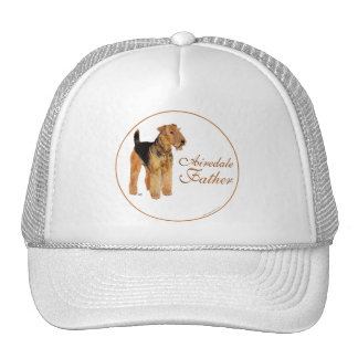 Airedale Father's Day Trucker Hat