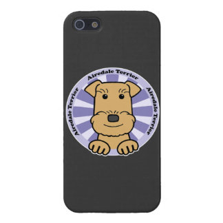 Airedale Graphic iPhone 5 Cases