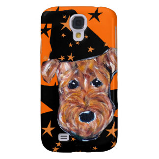 Airedale Halloween Galaxy S4 Case