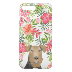 Uncommon iPhone 7 Plus Clearly™ Deflector Case with Airedale Terrier Phone Cases design