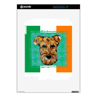 AIREDALE  IRELAND DECALS FOR iPad 2