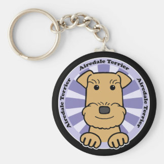 Airedale Keychain