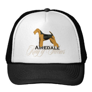 Airedale, King of Terriers, Detailed Trucker Hat