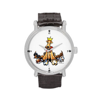 Airedale King of Terriers Watch