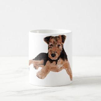 Airedale, Lakeland, Welsh Terrier Pup Coffee Mug