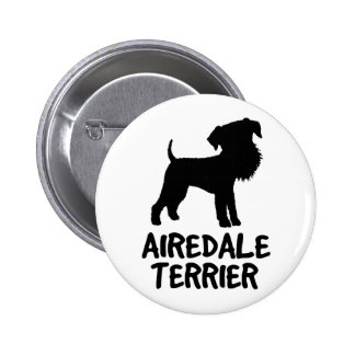 Airedale lindo Terrier Pins