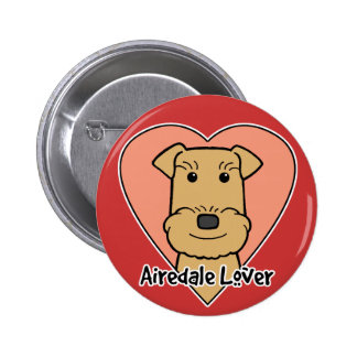Airedale Lover Pin