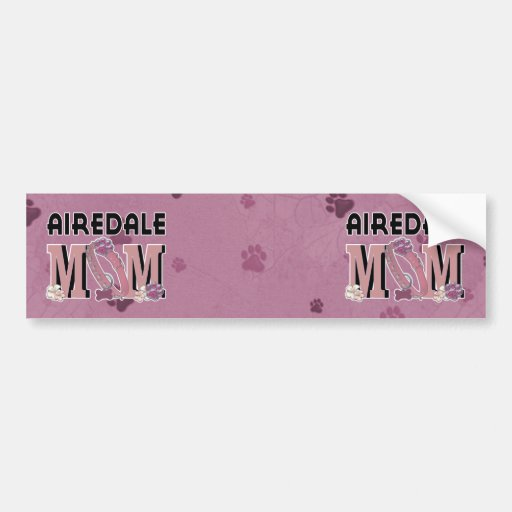 Airedale MOM Bumper Sticker