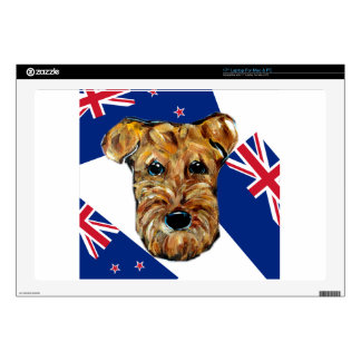 AIREDALE NEW ZEALAND LAPTOP DECAL