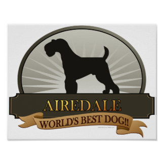 Airedale Póster