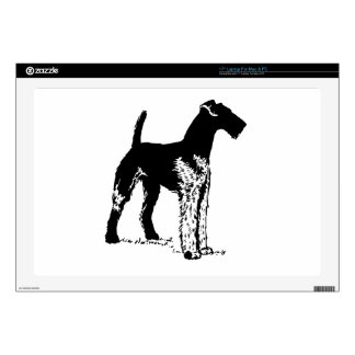 "Airedale 17"" Laptop Decals"