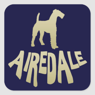 Airedale Square Stickers