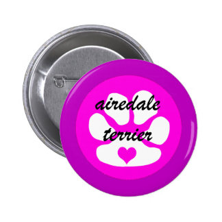 airedale terier buttons