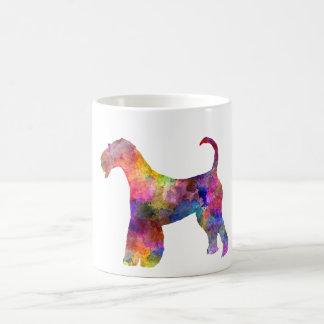 Airedale Terrier 01 in watercolor 2 Coffee Mug