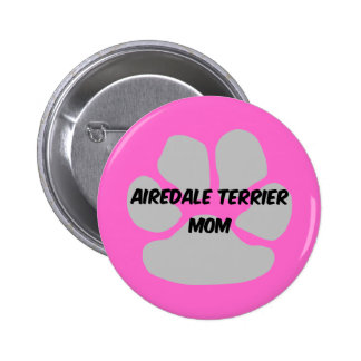 airedale terrier 2 inch round button