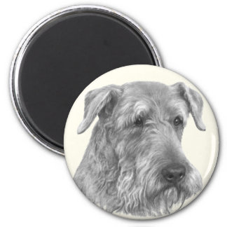 Airedale Terrier 2 Inch Round Magnet