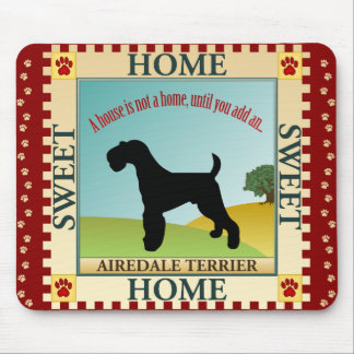 Airedale Terrier [ADT] Mouse Pad