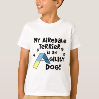 Airedale Terrier Agility Dog Child's T-Shirt