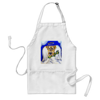 Airedale Terrier Angel Adult Apron