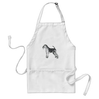 Airedale Terrier Aprons