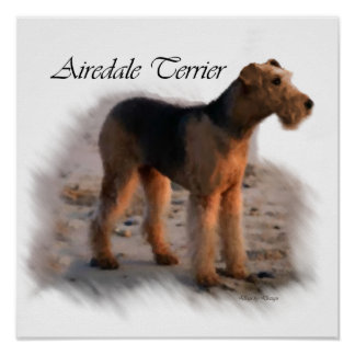 Airedale Terrier Art Print Gifts