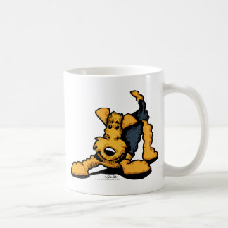 Airedale Terrier at Play Coffee Mug