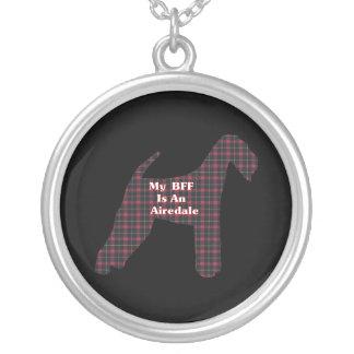 Airedale Terrier BFF Colgante Redondo
