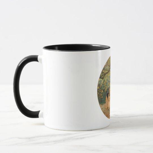 Airedale Terrier Birdwatching Mug