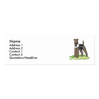 Airedale Terrier Business Cards