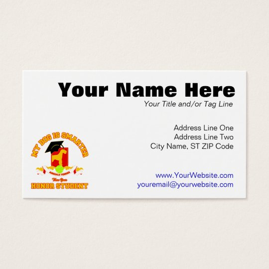 Airedale Terrier Business Card