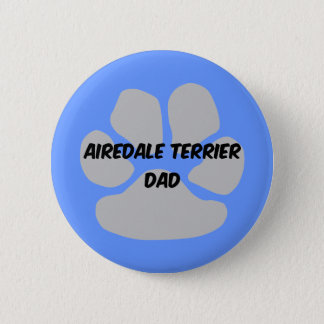 airedale terrier button