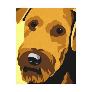 Airedale Terrier Canvas Prints