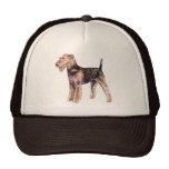 Airedale Terrier Cap Trucker Hat