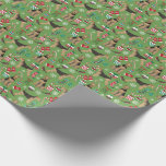Airedale Terrier Christmas gift wrap