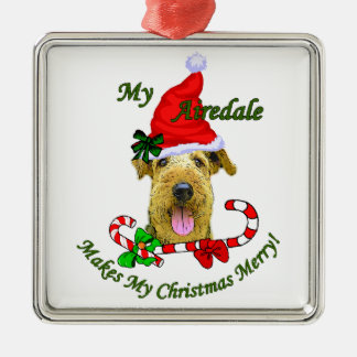 Airedale Terrier Christmas Gifts Ornament