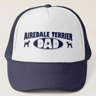 Airedale Terrier Dad Trucker Hat
