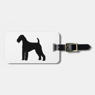 Airedale Terrier Dog Bag Tag