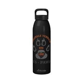 Airedale Terrier Dog Breed Water Bottle
