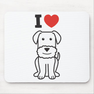 Airedale Terrier Dog Cartoon Mousepad