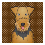 Airedale Terrier Dog Cartoon Paws Photograph
