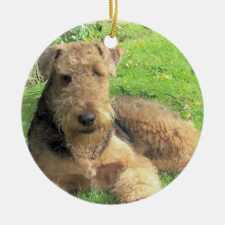 Airedale Terrier Dog Ornament