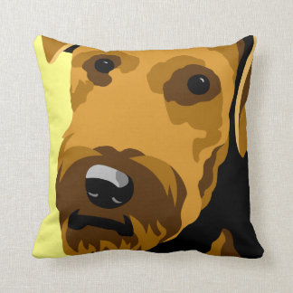 Airedale Terrier Dog Pillows