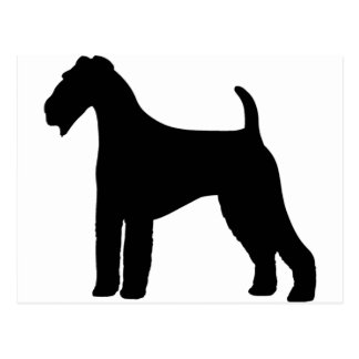 Airedale Terrier Dog Postcard