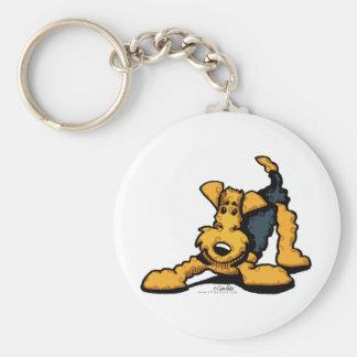 Airedale Terrier en el juego Llaveros