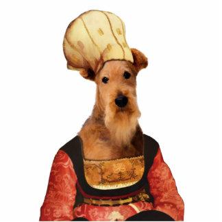 Airedale Terrier Flemish Lady Photo Sculpture