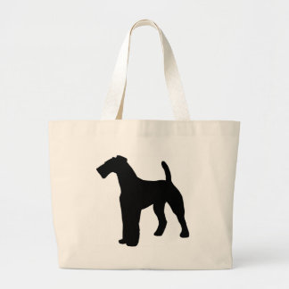 Airedale Terrier Gear Large Tote Bag