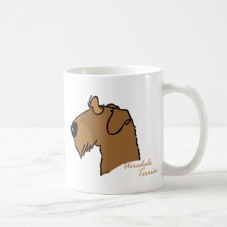 Airedale Terrier head Coffee Mug