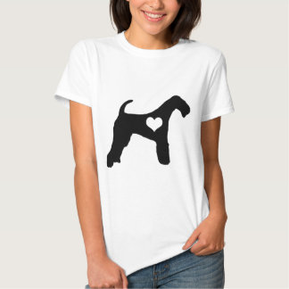 Airedale Terrier Heart T-Shirt
